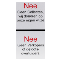 Nee / Nee sticker
