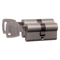 Nemef 132/9 profielcilinder NF3 serie dubbele cilinder gelijksluitend per 2