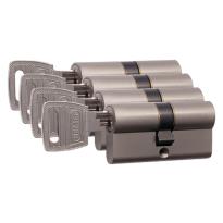 Nemef 132/9 profielcilinder NF3 serie dubbele cilinder gelijksluitend per 4