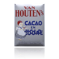 NG-34-HO emaille reclamebord 'Houten'