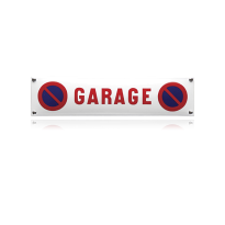NH-59 emaille verbodsbord 'Garage'