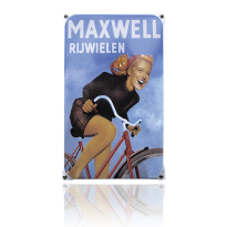 NO-11-MR emaille reclamebord 'Maxwell'