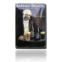 NO-70-BB emaille reclamebord 'Bardsley'