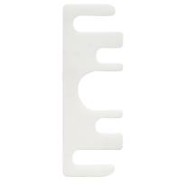 Opvulplaatje kunststof 1 mm voor scharnier 89 mm