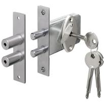 Penslot Zaso doornmaat 47mm, SKG** (2x gelijksluitend, 4 sleutels)