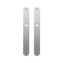 Plaatschild GPF1100.23 RVS geborsteld