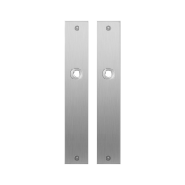Plaatschild GPF1100.27 RVS geborsteld