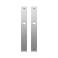 Plaatschild GPF1100.28 RVS geborsteld