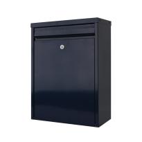 Postkast blauw, 470x340x170 mm