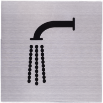 RVS pictogram 'Kraan - Waterpunt' vierkant