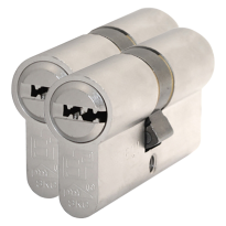 S2 antikerntrek veiligheidscilinders F6 gelijksluitend per 2, 30/30