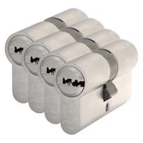S2 antikerntrek veiligheidscilinders F6 gelijksluitend per 4,30/30