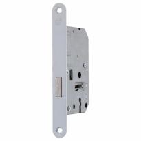 S2 binnendeur kastslot sleutelbediend SL55 DIN Ls/Rs, wit gelakt