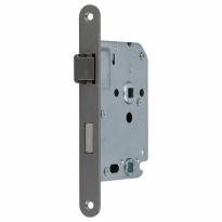 S2 binnendeur WC-slot 63/8 DIN Ls/Rs, RVS geborsteld