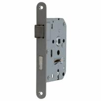 S2 binnendeurslot sleutelbediend D+N DIN Ls/Rs, RVS geborsteld