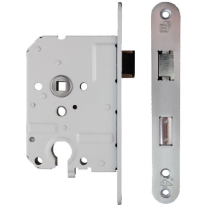 S2 veiligheidsinsteekslot PC55 DIN Ls/Rs, RVS geborsteld