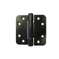 Scharnier ronde hoek Ivana 89x89 mm, zwart