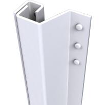 SecuStrip Plus buitendraaiend wit, 2115mm, terugligging 0-6mm