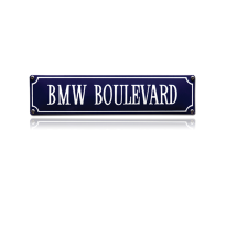 SS-10 emaille straatnaambord 'BMW Boulevard'