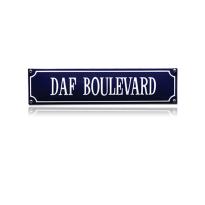 SS-20 emaille straatnaambord 'DAF Boulevard'