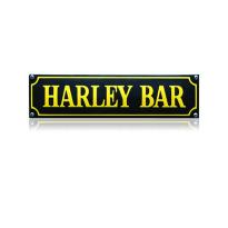 SS-35 emaille straatnaambord 'Harley Bar'