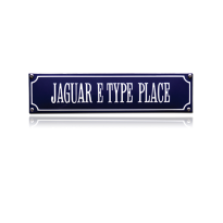 SS-42 emaille straatnaambord 'Jaguar E-Type Place'