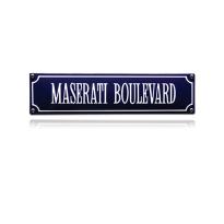 SS-54 emaille straatnaambord 'Maserati Boulevard'