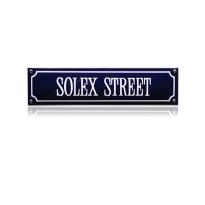 SS-84 emaille straatnaambord 'Solex Street'