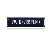 SS-92 emaille straatnaambord 'VW Kever Plein'
