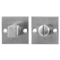 Toiletgarnituur GPF0904.08 50x50x2mm stift 5mm RVS geborsteld