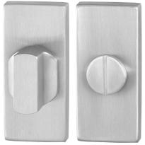 Toiletgarnituur GPF0910.01 70x32mm stift 8mm RVS geborsteld grote knop