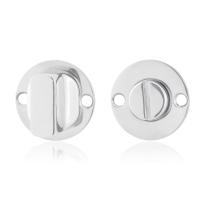 Toiletgarnituur GPF0911.47 38x2mm stift 5mm RVS gepolijst grote knop