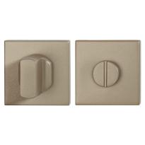 Toiletgarnituur GPF1102.A4.0910 50x50x8 mm stift 8 mm Champagne blend grote knop