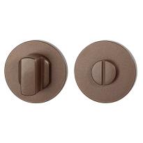Toiletgarnituur GPF1105.A2.0910 50x6 mm stift 8 mm Bronze blend grote knop