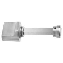 Toiletgarnituur GPF1110.09 toiletstift 8mm RVS geborsteld grote knop