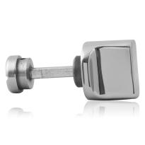 Toiletgarnituur GPF1111.49 toiletstift 5mm RVS gepolijst grote knop
