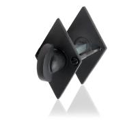 Toiletgarnituur GPF6911.07 83x52x4mm stift 5mm smeedijzer zwart