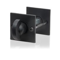 Toiletgarnituur GPF6911.08 52x52x4mm stift 5mm smeedijzer zwart