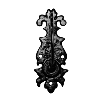 Tuimelaar KP1783 inclusief bel smeedijzer zwart