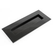 Wardlo buitenmaat 266x110mm/ opening 203x45mm smeedijzer zwart