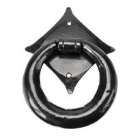 Wardlo deurklopper 110x114mm smeedijzer zwart