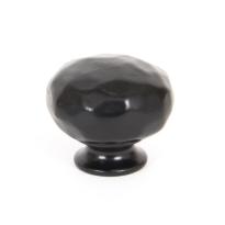 Wardlo meubelknop 33mm smeedijzer zwart