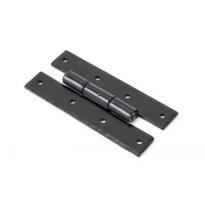 Wardlo scharnierheng 102mm smeedijzer zwart