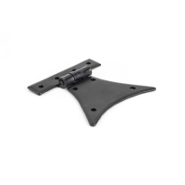 Wardlo scharnierheng 82x57mm smeedijzer zwart