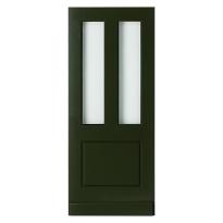 WK1435 voordeur met glas-/paneel
