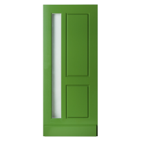 WK1545 voordeur met glas-/paneel