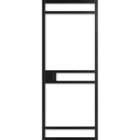 WK6332 schuifdeur industrieel met blank glas
