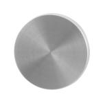 Blinde rozet GPF0900.05 50x6mm RVS geborsteld