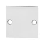 Blinde rozet GPF0900.48 50x50x2mm RVS gepolijst