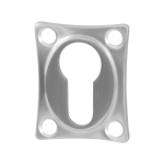 Cilinderrozet GPF0902.09 48x38x5mm RVS geborsteld